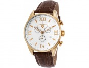 92% off Swiss Legend Bellezza Chronograph Leather Watch