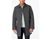 $263 off DKNY Men's Darryl Slim Fit Raincoat + Extra $20 Off w/ Code