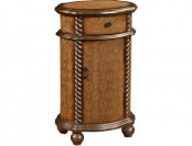 56% off PRI 1-Door Wood Cabinet in Brown