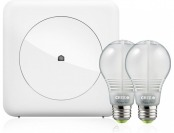 25% off Wink Smart Lighting Kit w/ 2 Connected Dimmable LED Bulbs