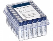 47% off Insignia AAA Batteries (48-Pack) - White / Blue
