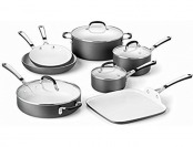 52% off Calphalon 11 Piece Ceramic Non-Stick Set