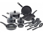 60% off WearEver Complete Nonstick Oven Safe Cookware Set