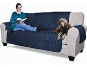 58% off Furhaven Reversible Pinsonic Poly Sofa Protector
