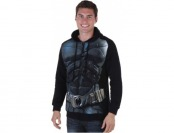 79% off Dark Knight Men's Black Batman Hoodie