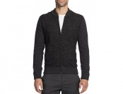 80% off Saks Fifth Avenue Collection Donegal Wool Zip-Front Cardigan