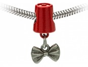 "80% off Bow Ties are Cool"" Fez and Bow Tie Charm Bead"