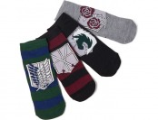 75% off Attack on Titan Low Cut Socks 5-pack