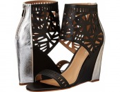 89% off Nicole Miller Artelier Turks (Black/Silver) Women's Shoes