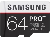 51% off Samsung PRO+ 64GB microSDXC Class 10 UHS-1 Memory Card