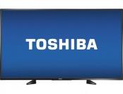 "$200 off Toshiba 55"" LED 1080p Google Cast HDTV"