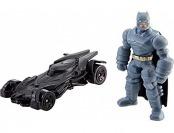 93% off Hot Wheels Armored Batman Mini Figure & Batmobile