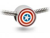 80% off Captain America Charm Bead