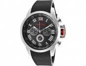 92% off Red Line Ignite Chrono Black Rubber and Dial Watch