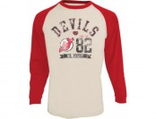 67% off New Jersey Devils Adult Hailey Long Sleeve T-Shirt