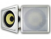 "79% off Acoustic Audio HDS8 8"" In Wall Kevlar Subwoofer (White)"