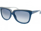 78% off Valentino Women's Square Light Blue Sunglasses