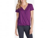 68% off Eddie Bauer Women's Girl on The Go Draped Cross Front Top