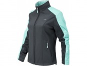 54% off New Balance Womens Mock Softshell w/Dobby Overlay Jacket