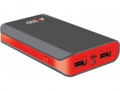 52% off Axess 6600 mAh Power Bank w/ 2 USB Ports