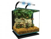 46% off Marineland Contour Glass Aquarium Kit w/ Rail Light