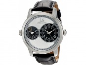 94% off Joshua & Sons Men's JS87SS Silver Quartz Watch