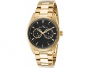 89% off Lucien Piccard Stellar Gold-tone Stainless Steel Watch