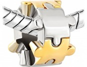 85% off Puzzle Piece Charm Bead