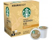 68% off Starbucks Pods Veranda Blend Coffee K-Cup, Box Of 16