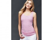 61% off Gap Women Ribbed Stripe Tank