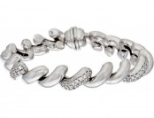 72% off Vicenza Silver Sterling Crystal San Marco Bracelet