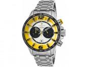 $700 off Lancaster Italy Men's Hurricane Chronograph SS Watch