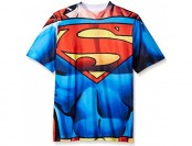 90% off Superman Little Boys' Short Sleeve Raglan T-Shirt