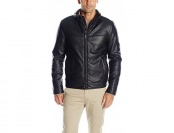 69% off Dockers Men's Smooth Lamb Faux Leather Jacket