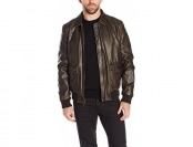 73% off Dockers Men's Vintage Washed Leather Look Aviator