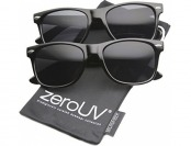 64% off zeroUV Classic Eyewear 80's Retro Sunglasses 2-Pack
