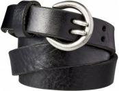 70% off Women's Double Prong Leather Jean Belt - Large
