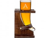 59% off Cathy's Concepts 16 oz. Personalized Glass Viking Beer Horn