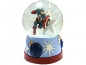 80% off Marvel Avengers Captain America Snow Globe