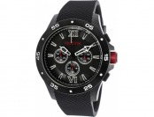 93% off Red Line Spark Chrono Black Rubber Watch