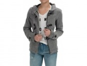 63% off Sebby Collection Hooded Toggle-Front Jacket For Women