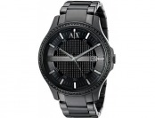 50% off Armani Exchange Men's AX2173 Analog Black Watch
