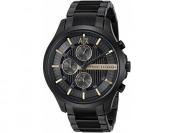 $90 off Armani Exchange Men's AX2164 Black PVD Watch