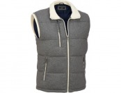 71% off Black Rivet Wool Puffy Vest
