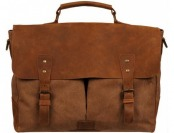 58% off Wilsons Leather Thunder Canvas Brief w/ Leather Accents
