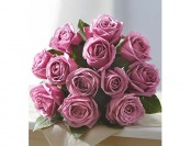33% off Flowers: Passion for Purple Roses 12 Stems