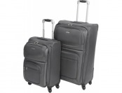 67% off G.H. Bass and Co. Westport 2-Piece Spinner Suitcase Set