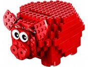 20% off LEGO Girls Piggy Coin Bank (40155)
