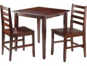 61% off 3 Piece Kingsgate Dining Table with 2 Hamilton Chairs