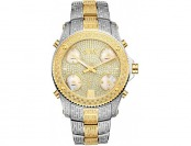 90% off JBW Jet Setter Mens 3 CTTW. Diamond Two-Tone Watch